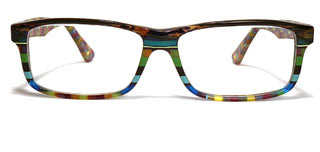 Wissing eyeglasses